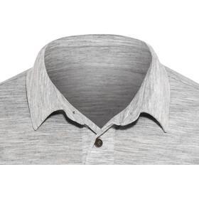 super.natural Essential Polo Shirt Men Ash Melange